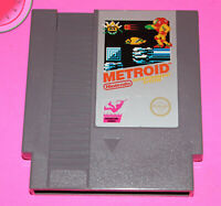 NES Nintendo Game METROID 5 Screw 1st Edition Non-Revision A cartridge Authentic