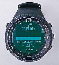 SUUNTO Core All Black watch with Altimeter ,Barometer & Compass + Temperature