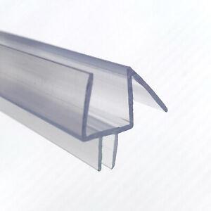 "1/2"" Frameless Glass Shower Door Bottom Seal 36"" Long or Free Factory Trim"