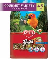 New listing Kaytee® Fiesta Conure Food- 4.5lb bags, set of 3