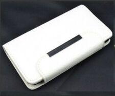 custodia cover case flip libro eco pelle magnetica la per WIKO BARRY bianco