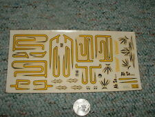 AMT  decals 3 in 1 SD-1 Ah So Oriental  etc  F30