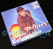 """ADRIANO CELENTANO """"I GRANDI SUCCESSI IN 3 CD"""" RARO BOX 3 CD - SIGILLATO"""