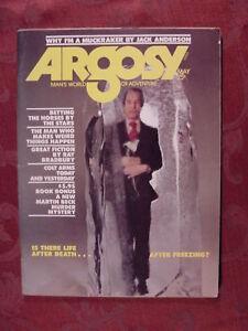 ARGOSY May 1974 URI GELLER JACK ANDERSON BERND BOETTGER