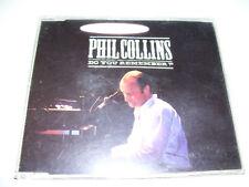 PHIL COLLINS - DO YOU REMEMBER 4tr. CD MAXI RARE 1990