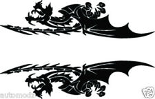 RC airbrush stencil's / paint mask's  flying dragons (SINGLE USE ONLY)