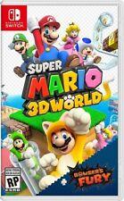 Super Mario 3D World + Bowser's Fury - Nintendo Switch brand new