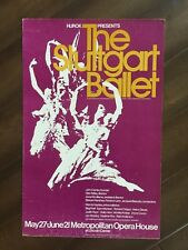 "14"" X 22"" Poster of ""The Stuttgart Ballet""-Marcia Haydee"