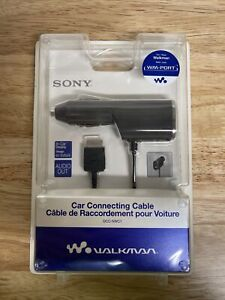 Sony Walkman DCC-NWC1 Car Connecting Cable, NWZ-A800 & NWZ-S600 Series WM-Port