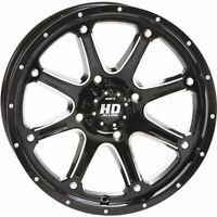 Black w/Machined 14x7, 4/137, 5+2 STI HD4 Wheel - 14HD407