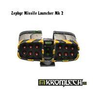 Kromlech Zephyr Missile Launcher MK2 Brand New KRVB016