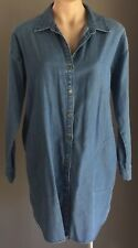 Retro Gem SPORTSGIRL Long Sleeve Denim Shirt Dress Size 10
