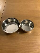 Ralph Lauren Paxton Double Nut Bowl Exquisite Polished Pewter Plate