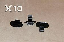 FORD HOOD BONNET BRAKE CLUTCH PIPE&CABLE HOLDER CLIPS 10PCS