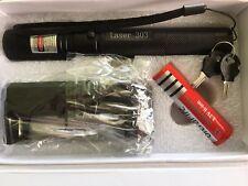 laserpointer Grün 303.  2in1 Star Cap