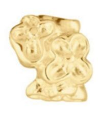PASTICHE LOVELINKS FLOWERS GOLD PLATE / SILVER TT082G