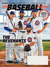 Sports Illustrated March 28, 2016 Cubs Anthony Rizzo, Jason Heyward Jake Arrieta