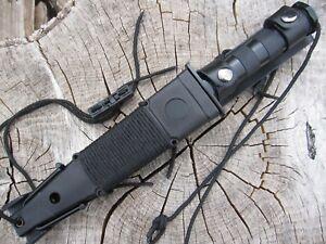 15teilig Outdoor Set Gürtelmesser Angler Messer Säge Kompass usw. Mi1