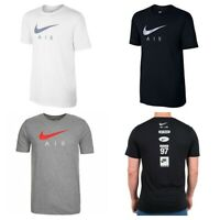Nike Air Logo Mens T Shirt Casual Swoosh Sports Gym TShirt Tops