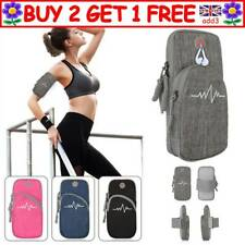 Sports Running Arm Bag Armband Case Cover Mobile Phone Holder Pouch Outdoor CAUK