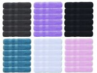 6X Hand Towels Soft Cotton Fluffy Thick Multipurpose Towel Set 600 GSM Quick Dry