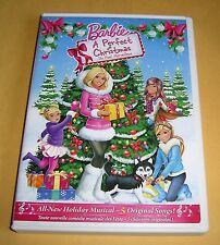 Barbie - A Perfect Christmas DVD, Canadian