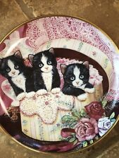 Franklin Mint Heirloom Collector Plate Hide And Seek Kittens K Duncan