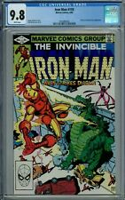 IRON MAN 159 CGC 9.8 WP DIABLO FANTASTIC FOUR MARVEL COMICS 1982 NEW CGC CASE