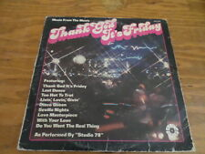 Thank God its Friday - Record with Sleeve - Free Domestic Shipping