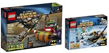 Lego 76013 ~ 76000 ~ Dc Comics ~ Batman ~ Joker Steam Roller ~ Aqua-man ~ New