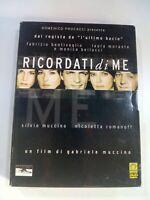 DVD RICORDATI DI ME - DOPPIO DISCO DVD