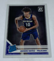 2019-20 Donruss Optic #190 JAXSON HAYES Rated Rookie RC PELICANS