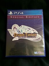 Dragon Fantasy: The Black Tome Of Ice PS4 Playstation 2016 Limited Run Games #18