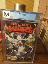 Secret wars 9 CGC 9.4 Alex Ross Cover