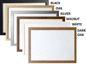 "A1 A2 A3 A4 A5 36x24"" Picture Frame New Photo Frames Modern Frames Wood Effect"