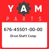 676-45501-00-00 Yamaha Drive shaft comp 676455010000, New Genuine OEM Part