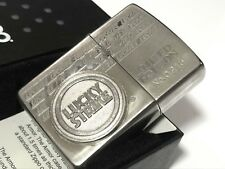 Rare! ZIPPO 1996 Limited Edition LUCKY STRIKE 3D Logo Lighter No.0215 Silver