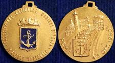 Medaglia Associazione Marinai d'Italia 9° Raduno Roma 1980 con smalti #MD3329