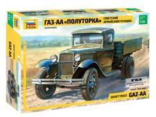GAZ-AA - WW II SOVIET MILITARY TRUCK #3602 1/35 ZVEZDA