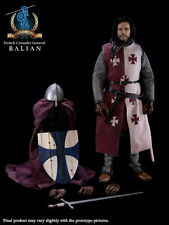 """PANGAEA 1/6 12"""" French Crusader Knight General Balian Figure (Regular Version)"""