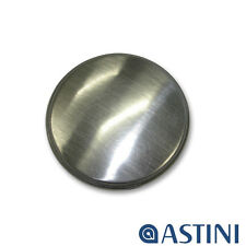 Astini Brushed Steel Universal Fit Kitchen Sink Tap Hole Replacement Cover Plate