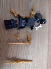 Lego Ninjago Lord Garmadon Minifigure with weapon from Set 9450