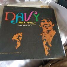 Monkees Davy Jones head flexi disc record interview japan RARE