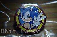 Sonic the Hedgehog Megadrive Game Gear SEGA Rare Promo Enamel PIN BADGE Pins