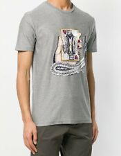 $385 New ETRO Men's King Of Hearts T-Shirt Size XL