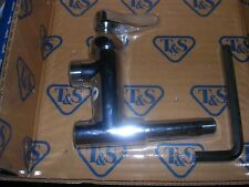 T&S Brass B-0155-01Ln Add-On Faucet Less Nozzle Lever Handle Restaurant Kitchen