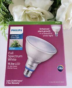Philips 120W Equivalent Daylight PAR38 Medium LED Plant Growth Light Bulb White