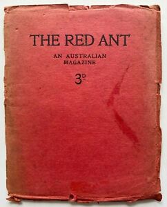 1912 1st THE RED ANT AUSTRALIAN MAGAZINE, Hal Stone, FREE EXPRESS w/wide