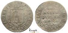 Schweiz-Basel, Stadt, Doppelassis 1624, Divo/Tobler 1362, 2,87g., s-ss