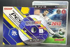 """PS 3 Playstation 3 Spiel """" PES 13 - Pro Evolution Soccer 2013 """" KOMPLETT"""